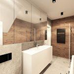 Projekt łazienki w domu - koszalin